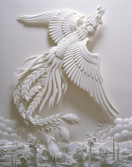 Jeff1 Stunning Paper Sculptures By Jeff Nishinaka
