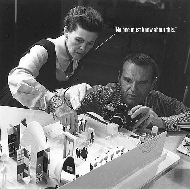Чарльз и Рэй Имз (Charles & Ray Eames) - американские дизайнеры (Americ