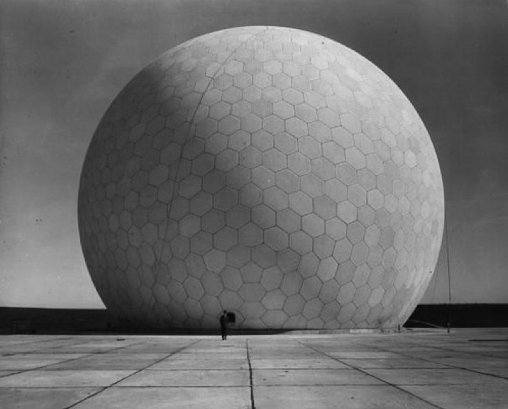 the geodesic concrete dome