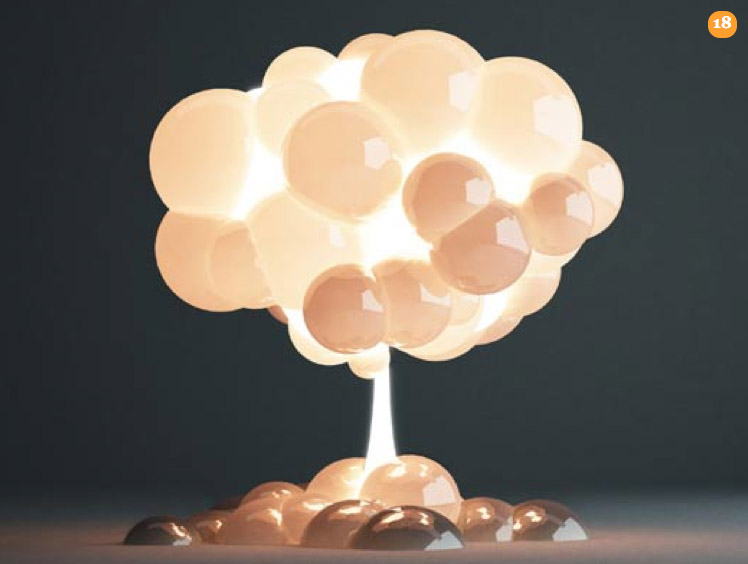 Elegant Knowing That There Are Currently Over 23,000 Nuclear Weapons In Existence,  Caused H220430 (led By Satoshi Itasaka) To Create The Mushroom Lamp To  Heighten ...