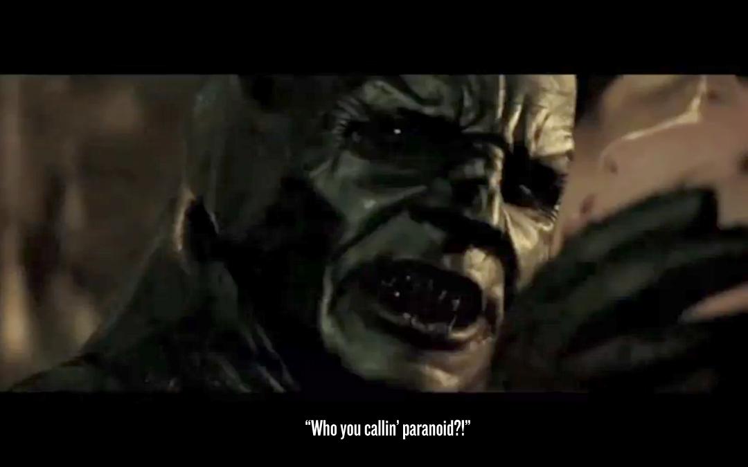 quotthe batman complexquot mixes quotinceptionquot with paranoid