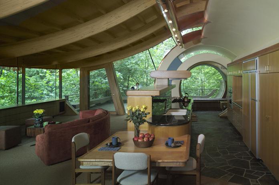 Cool tree houses interior - Source