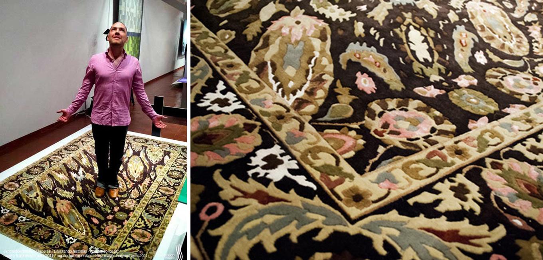 Optical Illusion Rug Design Puts The Quot Crazy Quot In Crazy Carpet
