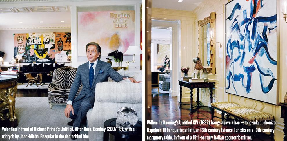 Vanity Fair Goes Inside Valentino S Newly Renovated