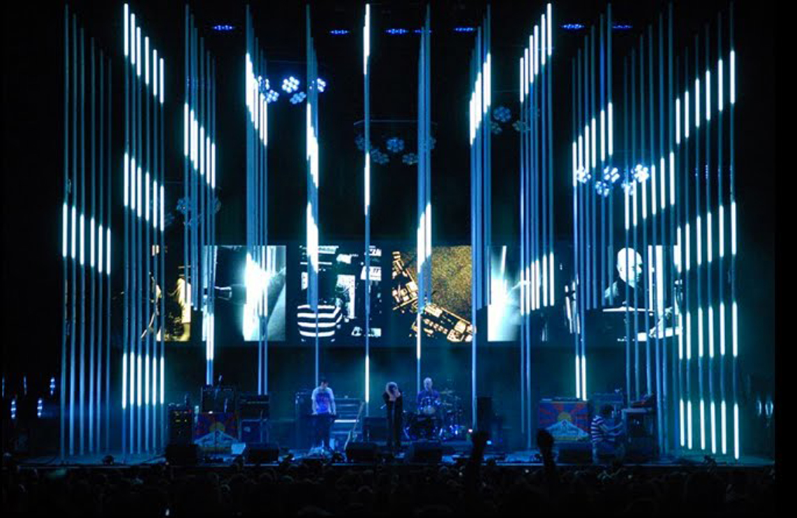 The New York Times Profiles Radioheads Lighting And Stage