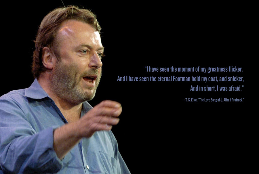 christopher hitchens essay on cancer