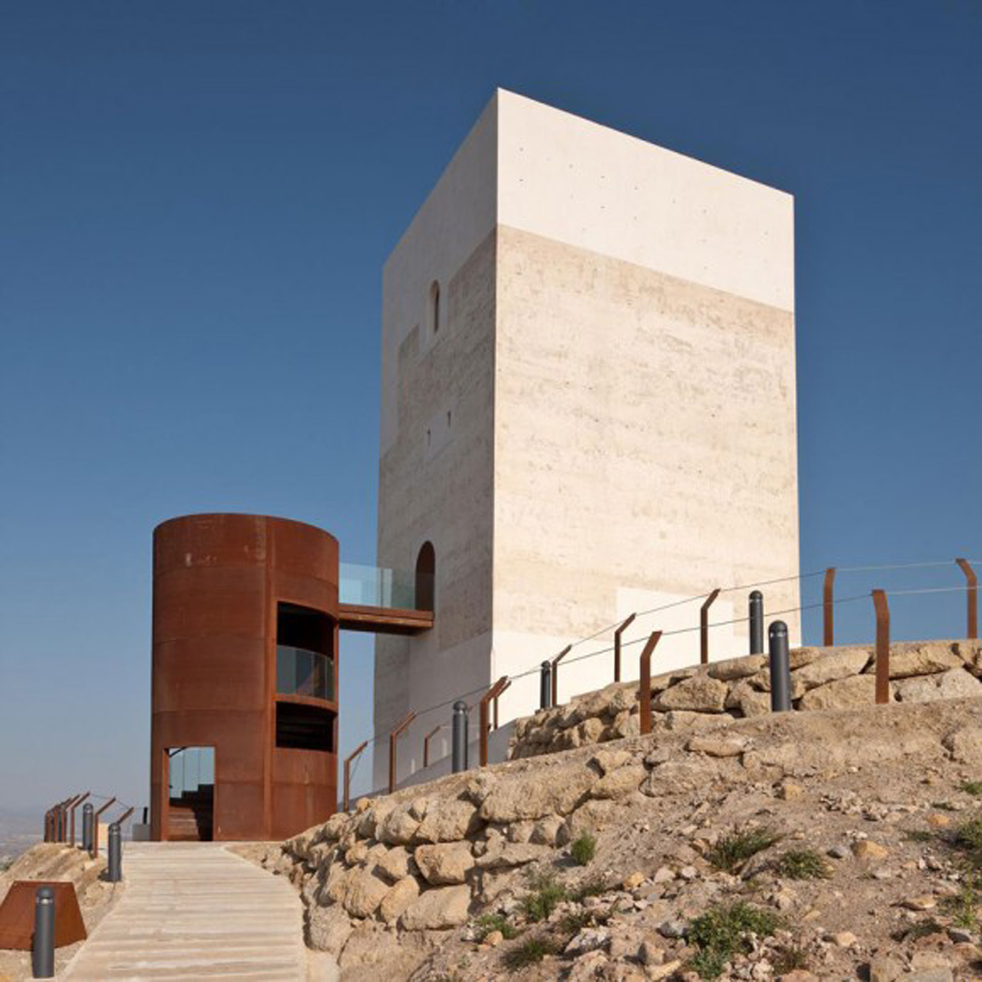 Castill2 Magnificent Restoration Of Spanish Observation Tower Brings New Life To Rugged Landscape