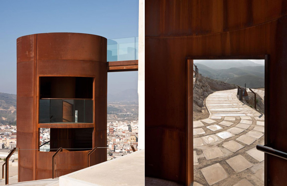 Castill3 Magnificent Restoration Of Spanish Observation Tower Brings New Life To Rugged Landscape