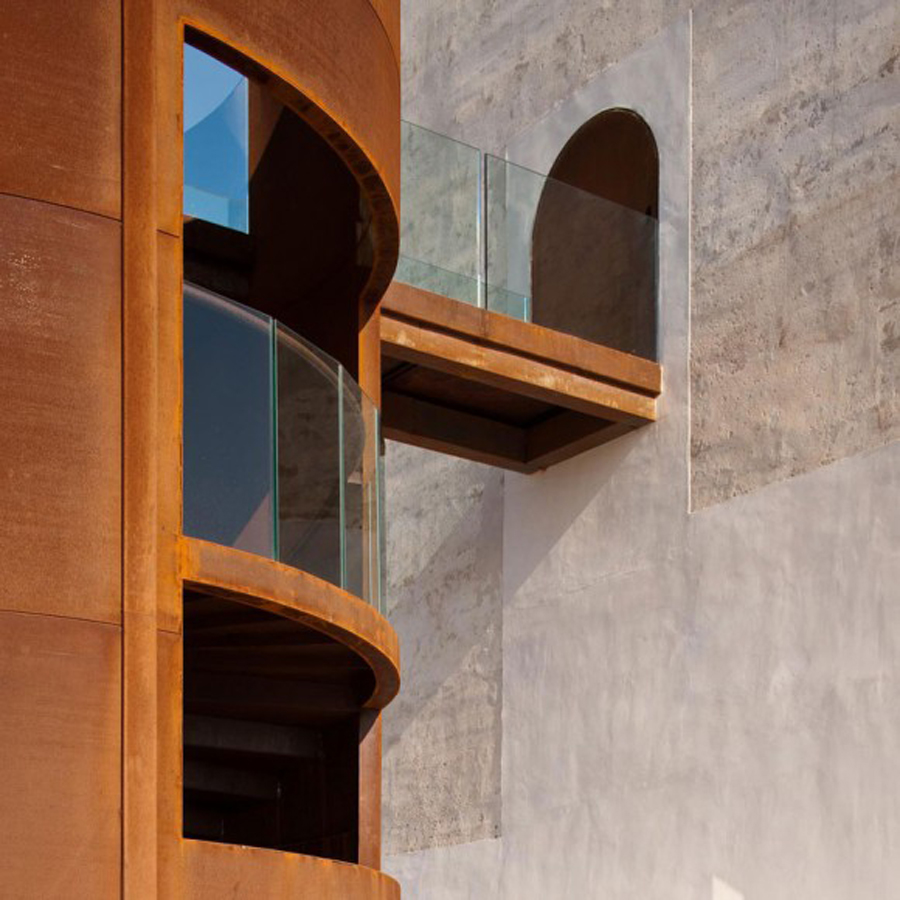 Castill6 Magnificent Restoration Of Spanish Observation Tower Brings New Life To Rugged Landscape