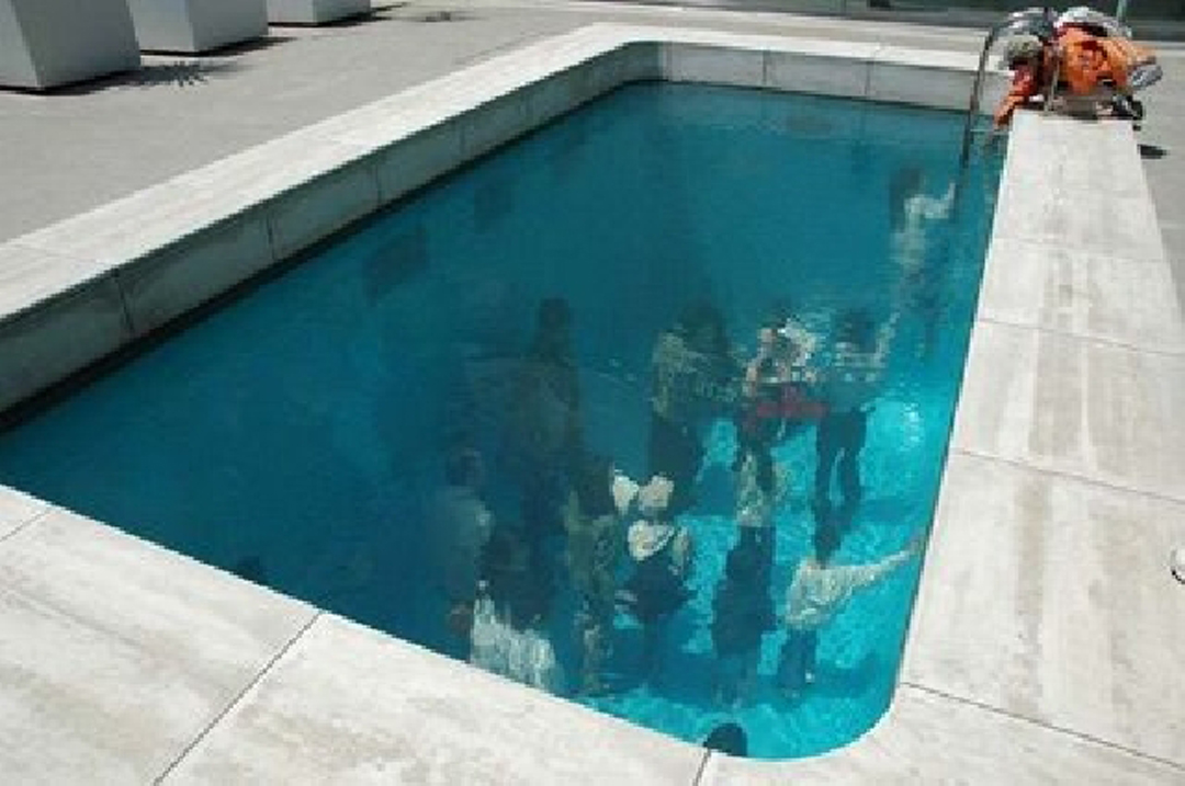 Leandro Erlich 39 S Swimming Pool Art Installation Creates Amazing Illusion Of Water Surface