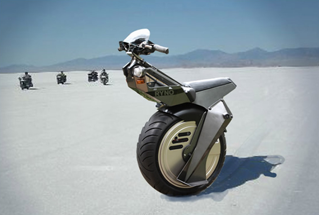 the incredible one wheel electric scooter by ryno motors