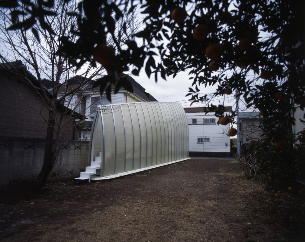 Tekuto7 The Brilliant Trapezoidal Lucky Drops House In Tokyo, Japan