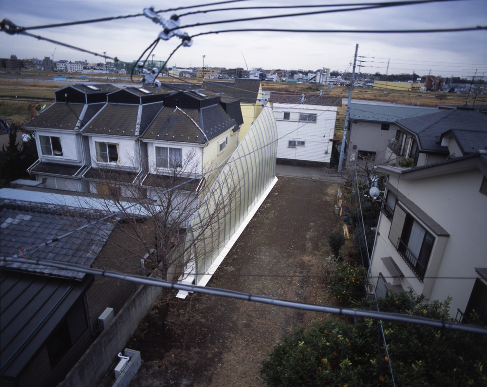 Tekuto8 The Brilliant Trapezoidal Lucky Drops House In Tokyo, Japan