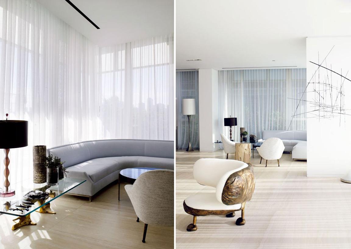 Conceptualist Home Of Interior Designers Yabu Pushelberg