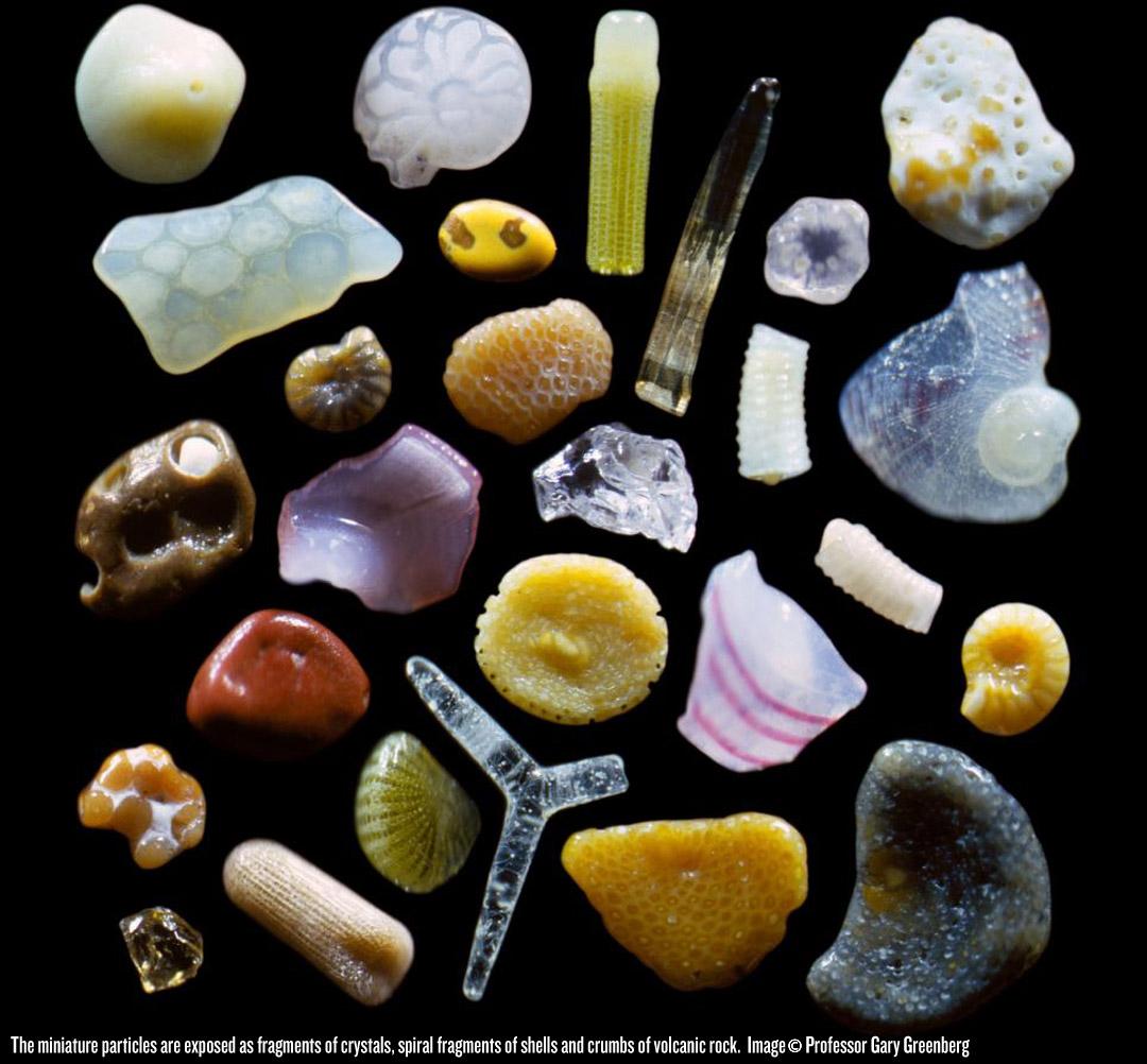 Макро фотографии песка 4
