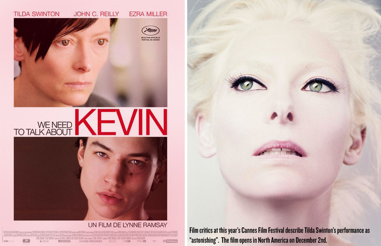 KevinTrailer1 Watch The Very First Trailer For Tilda Swintons Upcoming Thriller We Need To Talk About Kevin