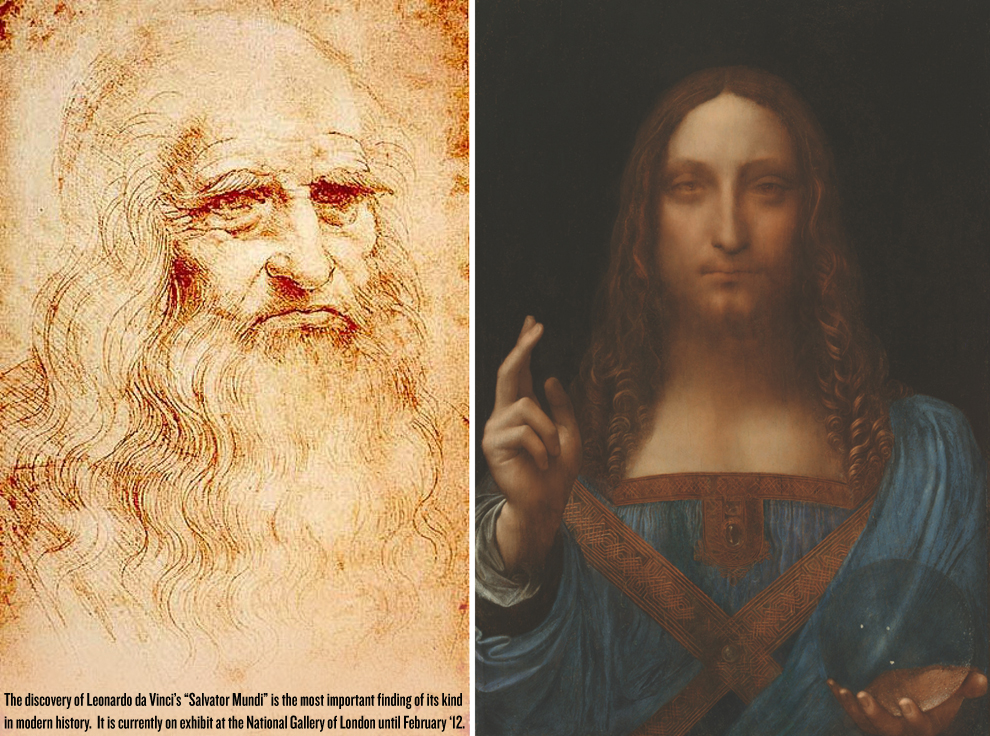 Salvator Mundi Discovery >> Painting Once Sold For $72 Confirmed By Experts As Leonardo Da Vinci's Long Lost $200M Depiction ...