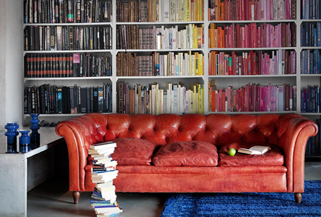 Mr perswall 39 s library wallpaper will fill your home for Book wallpaper for walls