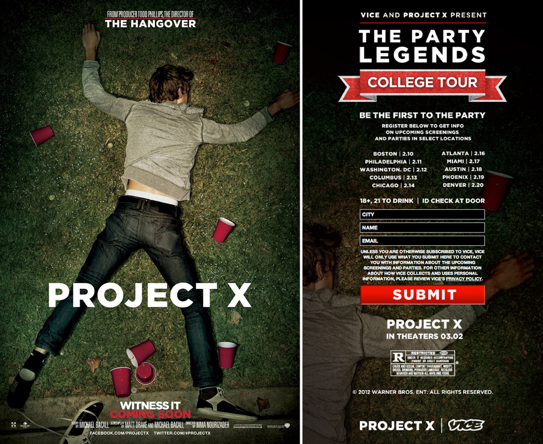 Miles Teller Project X Dance