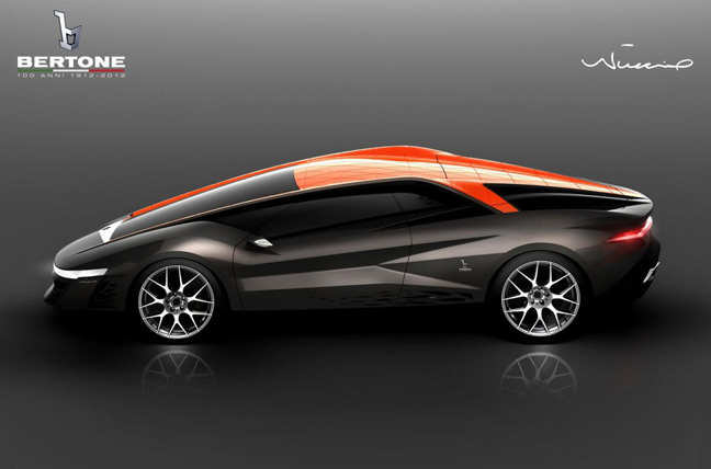 Bertone2 Once Shrouded In Secrecy, Jaw Dropping First Images Of Bertone Nuccio™ Supercar Are Released, Unveiling Set For March In Geneva
