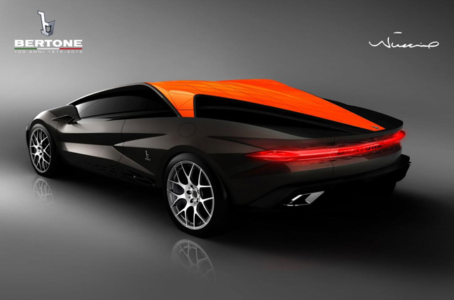 Bertone3 Once Shrouded In Secrecy, Jaw Dropping First Images Of Bertone Nuccio™ Supercar Are Released, Unveiling Set For March In Geneva