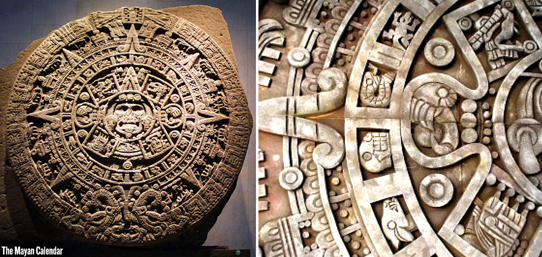 mayan calendar A complicated and accurate calendar using three simultaneous independent systems it consisted of the long count, tzolkin, and haab the long count is related to precession of the equinoxes, and will end in 2012 when the winter solstice will be very near the point at which the ecliptic plane and galactic plane intercept (jenkins).