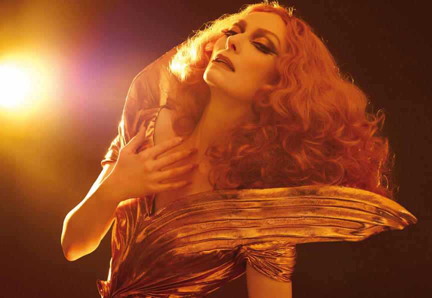 TildaCandy5 The WOW Files: Glamazon Tilda Swinton Stars In Candy Magazines Mindblowing Summer 2012 Issue