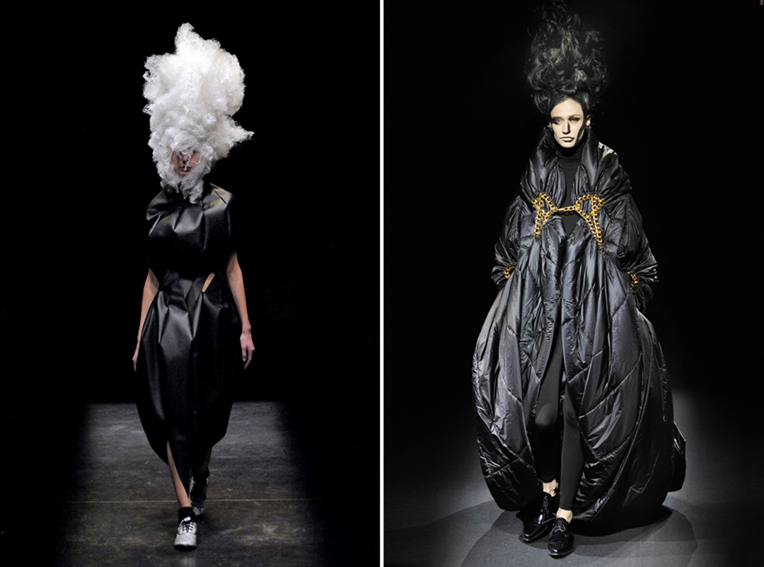 rei kawakubo deconstruction images galleries with a bite. Black Bedroom Furniture Sets. Home Design Ideas