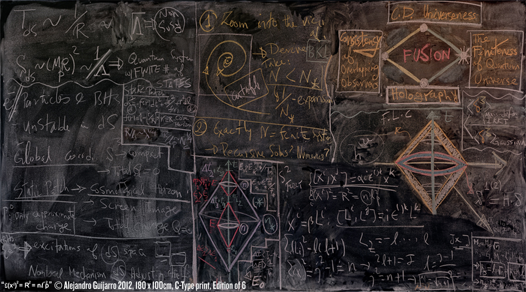 AlejandroGuijarro3 Ephemeral Documents: Alejandro Guijarros Photographs Of Chalkboards From Quantum Mechanics Institutions
