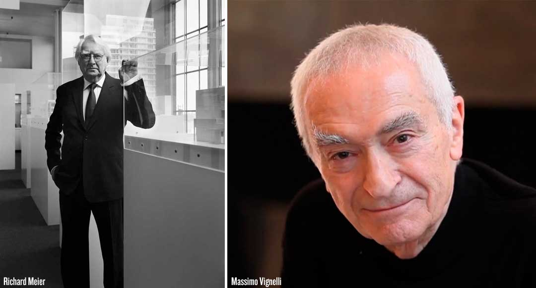 MeierMassimo Watch NOWNESS Beautiful Short Film On The Edge Of Modernism With Richard Meier & Massimo Vignelli