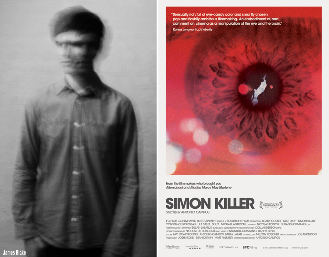 BlakeSimon James Blake Premieres Brand New Retrograde, First Trailer Released For Polansqi esque SIMON KILLER