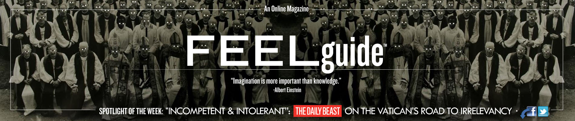 NewBanner119A Banner Photo #119: Incompetent & Intolerant: The Daily Beast On The Vaticans Road To Irrelevancy