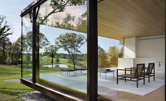 Desaichia8 Check Out The Stunning LM Guest House In Upstate New York Designed By Desai/Chia Architects