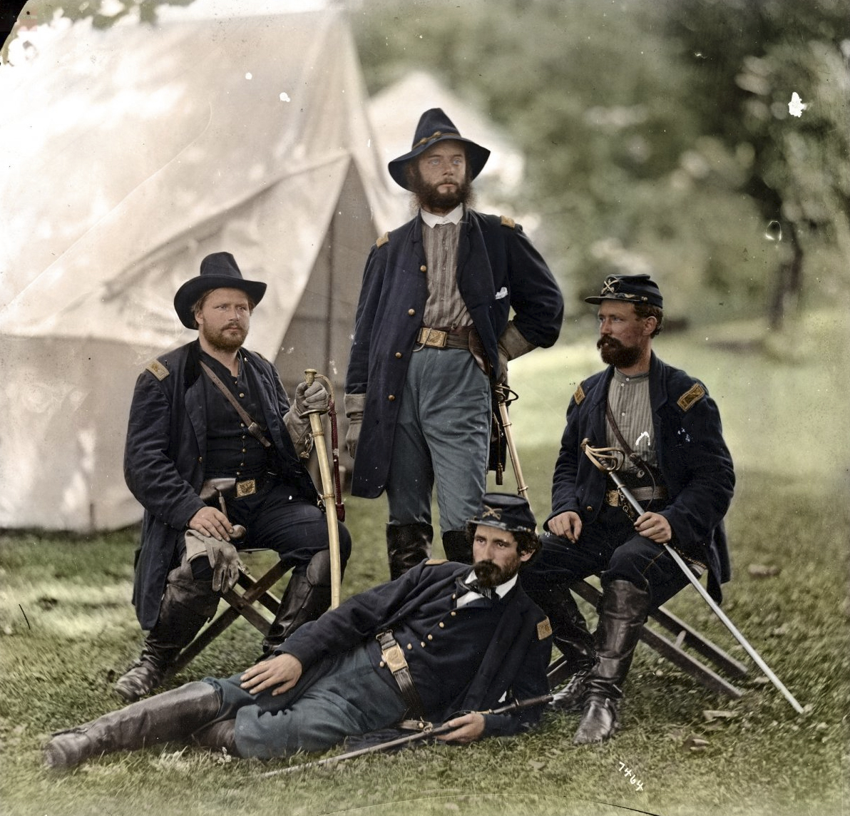 Historical: Remarkable Colorized Photos From The American Civil War