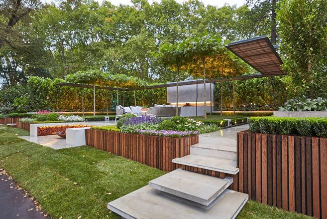 This Brilliant Backyard Garden Design Just Won Landscape ...