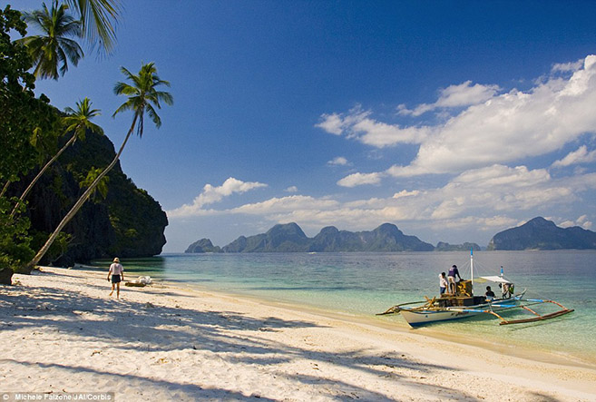 Philippines travel and tropical vacation