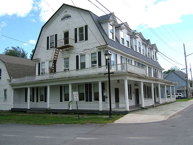 The Haunted Hotel Shanley in New York State
