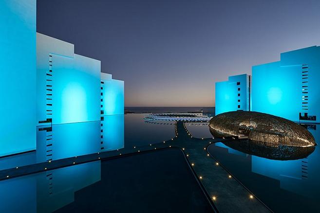 The Hotel Mar Adentro in Cabo San Lucas, Mexico