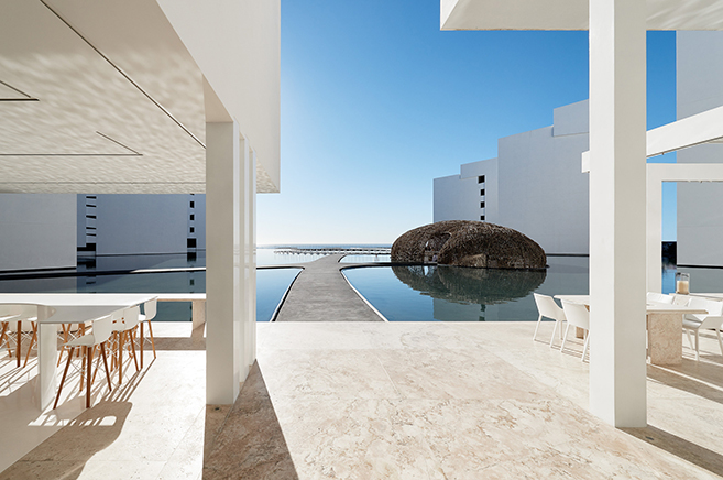 The Hotel Mar Adentro in Cabo San Lucas, Mexico