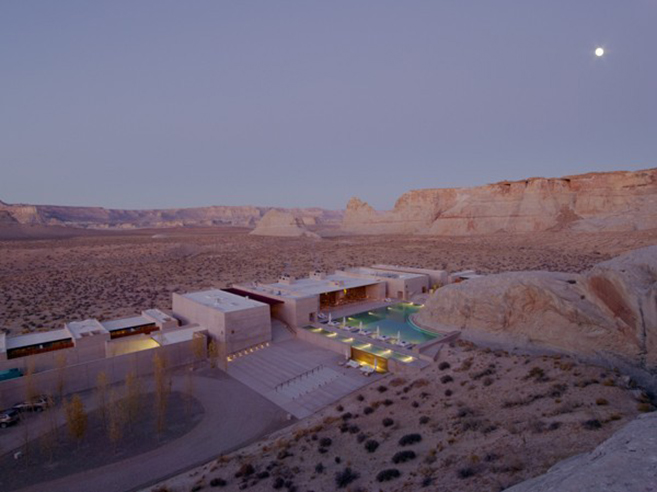 AMAN's Amangiri Resort & Spa In Canyon Point, southern Utah
