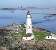 The 300-Year-Old Boston Light Lighthouse