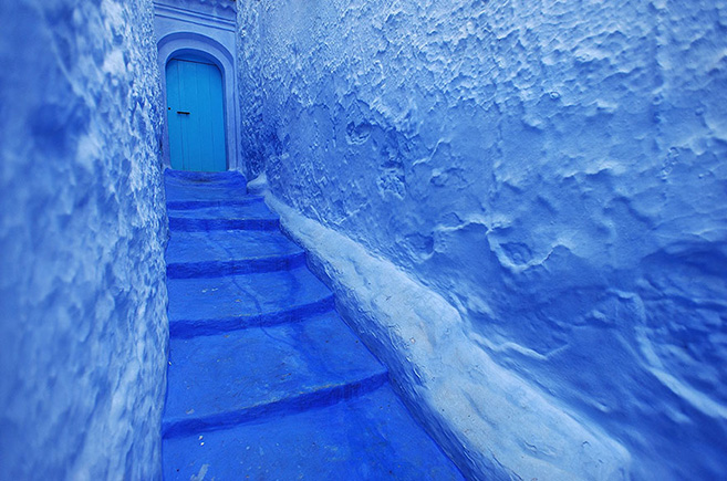 The Blue City of Chefchaouen in Morocco