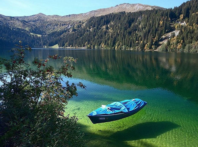 Blue Nelson Lake New Zealand Clear Water