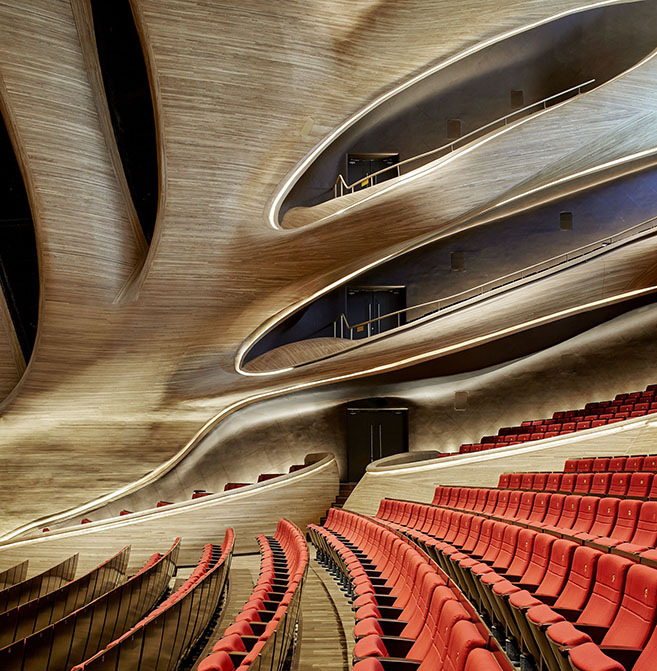 The Harbin Opera House in China by MAD Architects