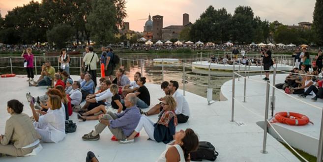 Joseph Grima's Archipelago di Ocno in Mantova, Italy