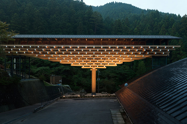 The Yusuhara Bridge Museum & Hot Springs