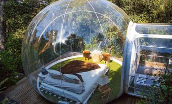 The Attrap'Rêves Bubble Hotel in France