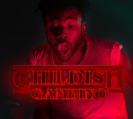 "Childish Gambino and Stranger Things = ""Stranger Bonfires"""
