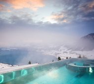 The Stairway to Heaven Spa at Villa Honegg in Switzerland