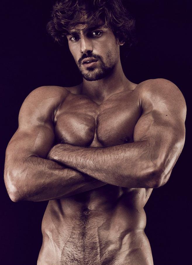 Ignacio Ondategui's Underwear Photo Shoot